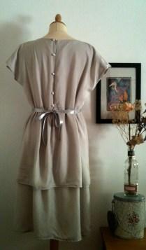 Vestido Gris plata 2 Silver Gray dress 2 75€