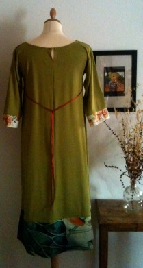 Vestido verde largo Longe Green dress 70€