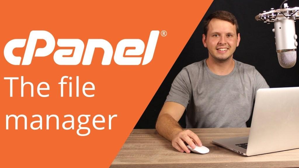 cPanel Диспетчер файлов