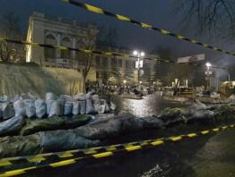 Hrushevskogo St. at the night