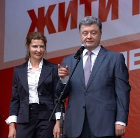 Marina and Petro Poroshenko