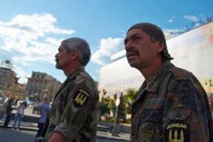 "Combatants of battalion ""DONBASS"""