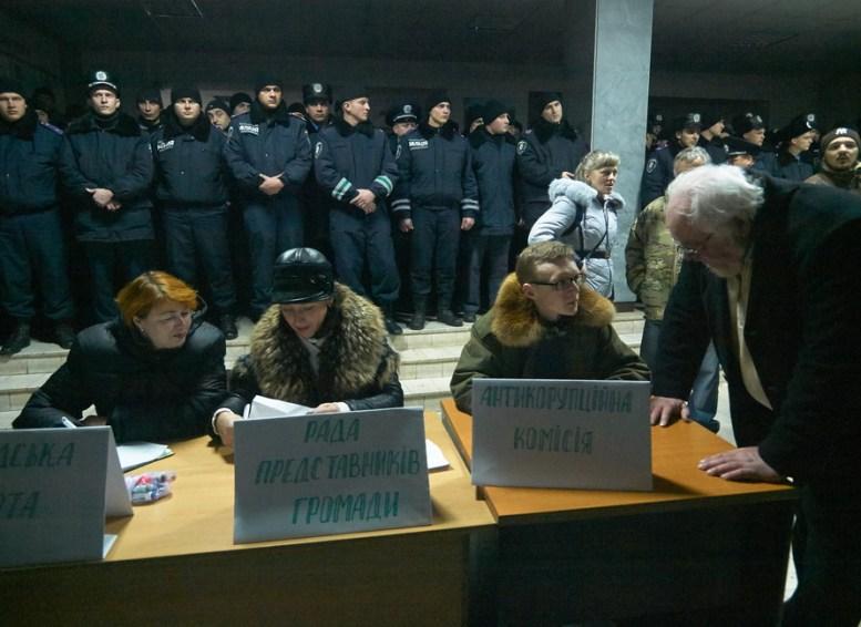 Registration to Public guard, Public representative committee, Anti-corruption committee