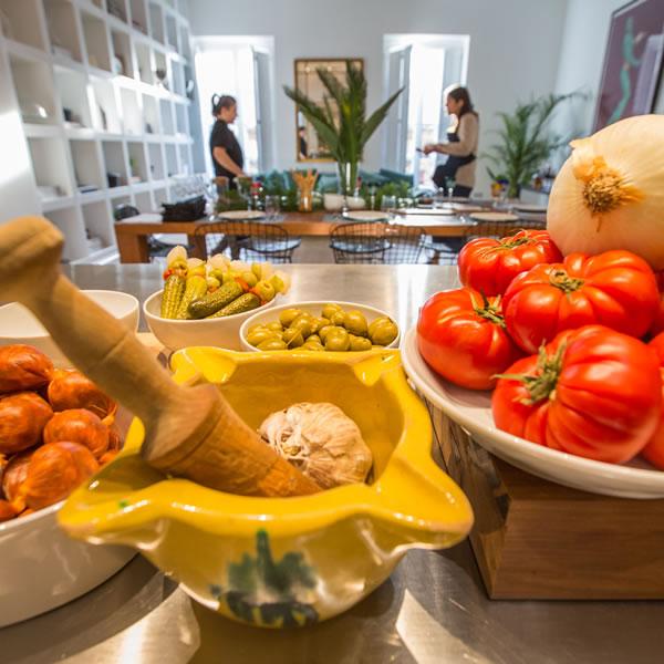 Alicante clase taller de cocina