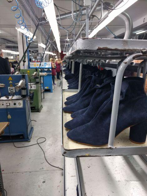 Visita fabrica calzado