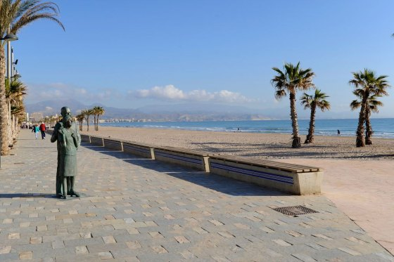 Paseo Playa Alicante