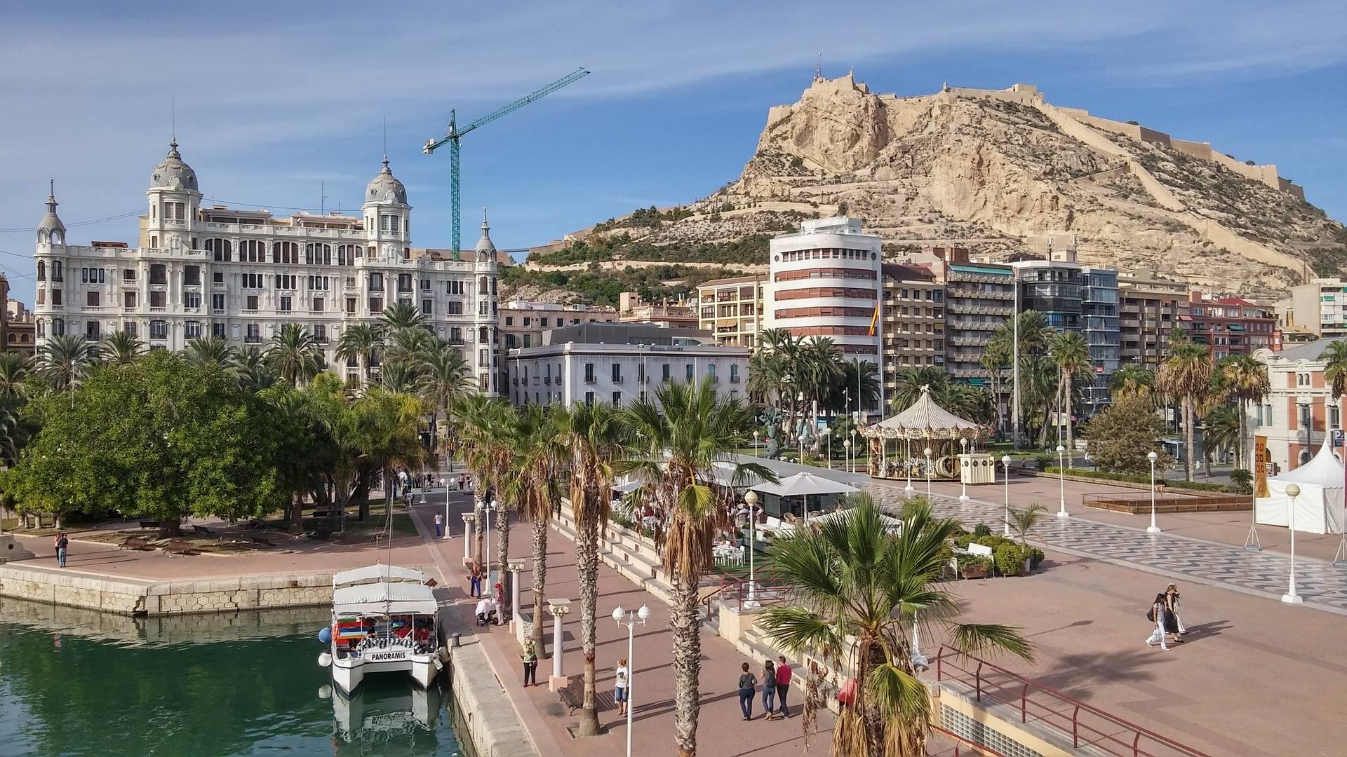 Alicante in autum