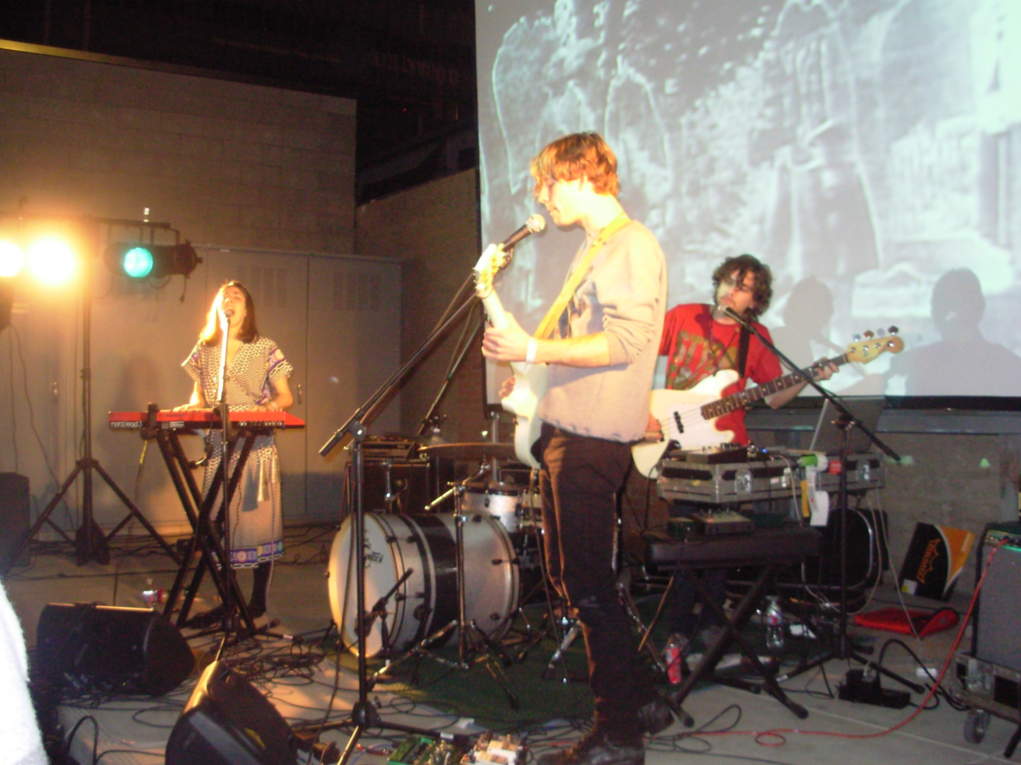 NY indie rockers Chairlift play at 15 Twenty