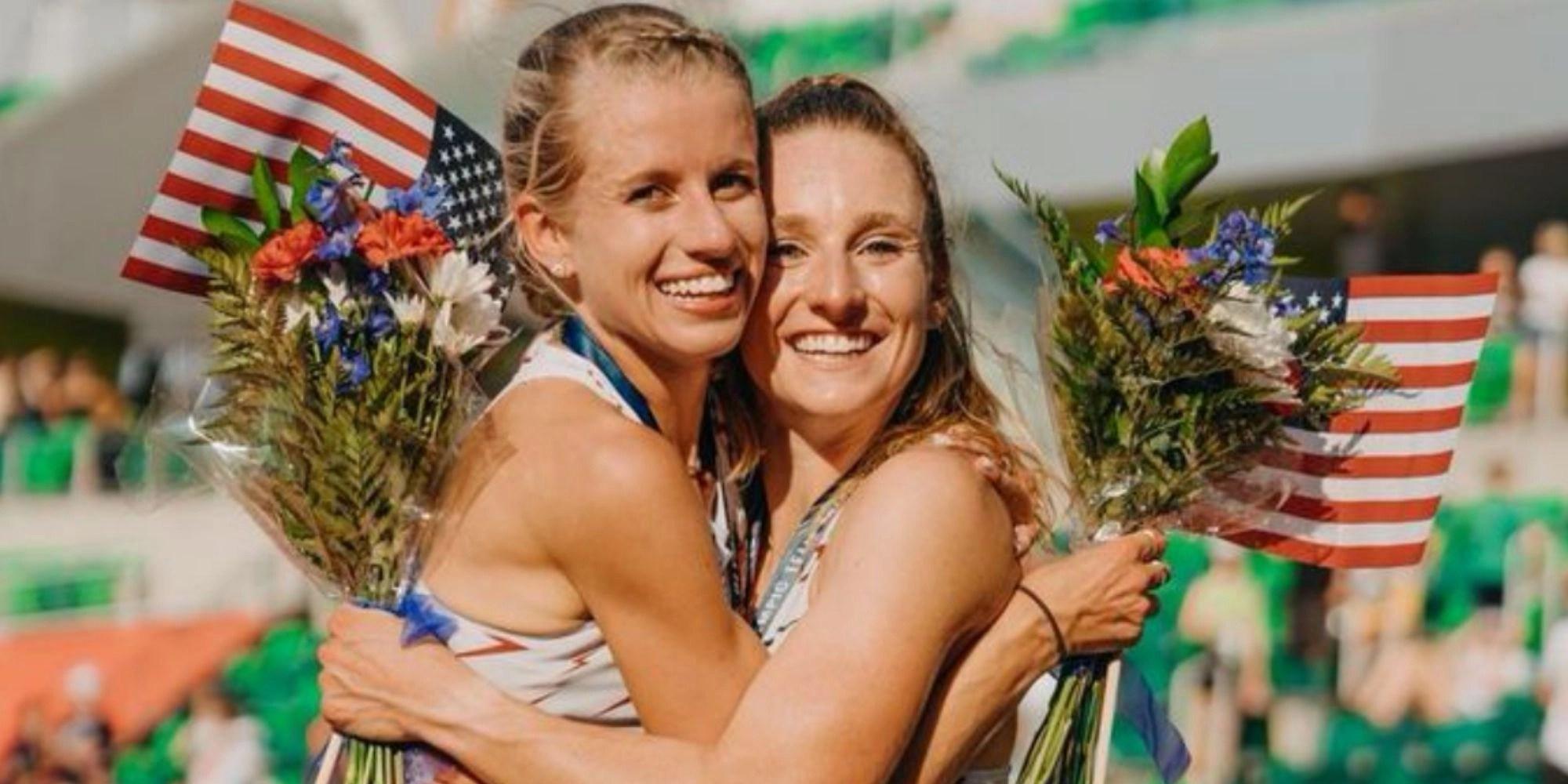 Karissa Schweizer & Elise Cranny