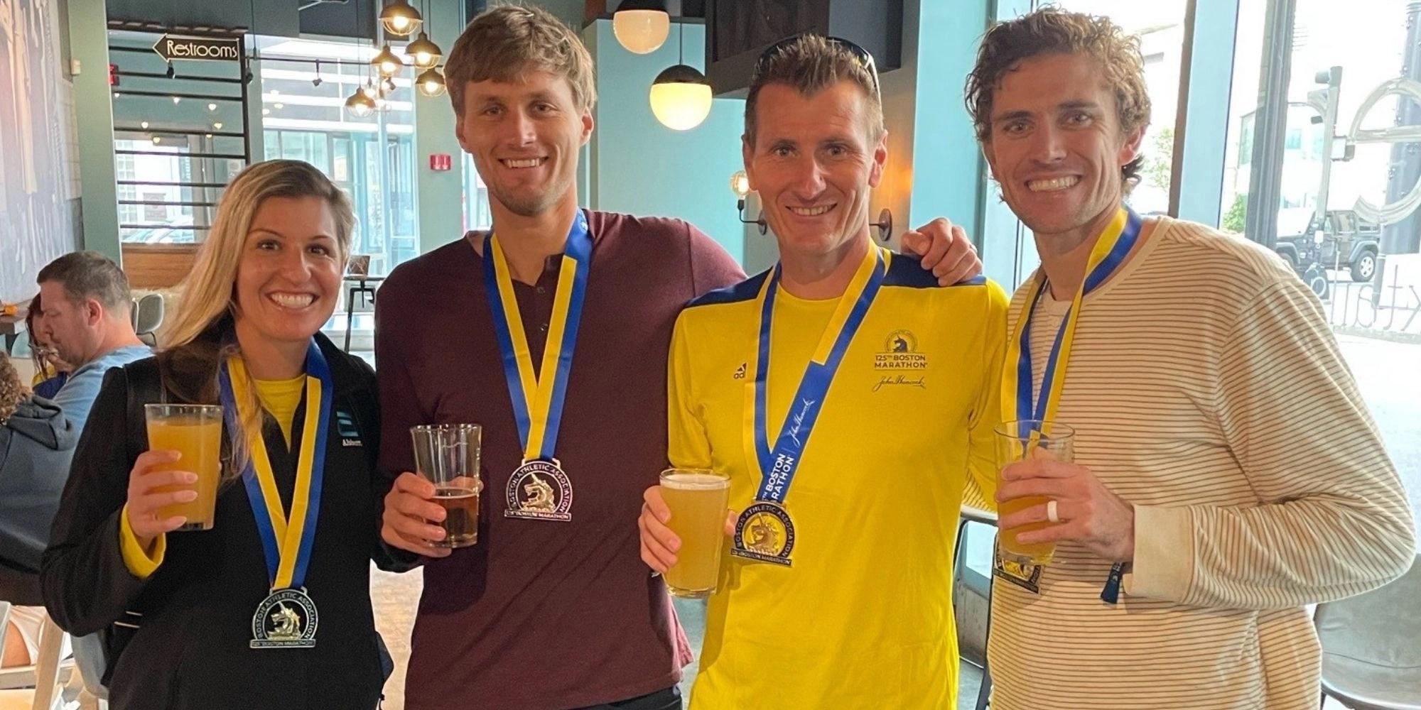 Boston Marathon Recap
