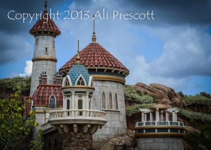 Ariel's Castle-Walt Disney World