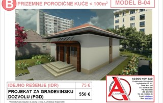 MODEL B-04, gotovi projekti vec od 50e, projekti, projektovanje, izrada projekata, house design, house ideas, house plans, interior design plans, house designs, house