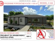 MODEL C-04, gotovi projekti vec od 50e, projekti, projektovanje, izrada projekata, house design, house ideas, house plans, interior design plans, house designs, house