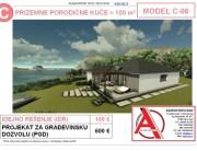 MODEL C-06, gotovi projekti vec od 50e, projekti, projektovanje, izrada projekata, house design, house ideas, house plans, interior design plans, house designs, house