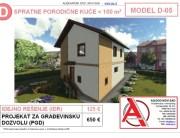 MODEL D-05, gotovi projekti vec od 50e, projekti, projektovanje, izrada projekata, house design, house ideas, house plans, interior design plans, house designs, house