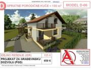 MODEL D-06, gotovi projekti vec od 50e, projekti, projektovanje, izrada projekata, house design, house ideas, house plans, interior design plans, house designs, house