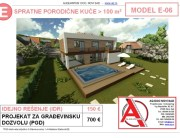 MODEL E-06, gotovi projekti vec od 50e, projekti, projektovanje, izrada projekata, house design, house ideas, house plans, interior design plans, house designs, house