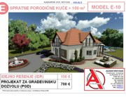 MODEL E-10, gotovi projekti vec od 50e, projekti, projektovanje, izrada projekata, house design, house ideas, house plans, interior design plans, house designs, house