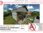 MODEL E-15, gotovi projekti vec od 50e, projekti, projektovanje, izrada projekata, house design, house ideas, house plans, interior design plans, house designs, house