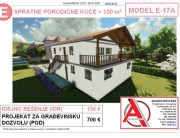 MODEL E-17A, gotovi projekti vec od 50e, projekti, projektovanje, izrada projekata, house design, house ideas, house plans, interior design plans, house designs, house