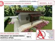 MODEL A-01, gotovi projekti vec od 50e, projekti, projektovanje, izrada projekata, house design, house ideas, house plans, interior design plans, house designs, house