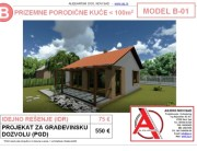 MODEL B-01, gotovi projekti vec od 50e, projekti, projektovanje, izrada projekata, house design, house ideas, house plans, interior design plans, house designs, house