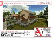 MODEL E-24, gotovi projekti vec od 50e, projekti, projektovanje, izrada projekata, house design, house ideas, house plans, interior design plans, house designs, house