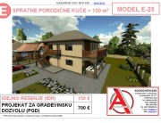 MODEL E-25, gotovi projekti vec od 50e, projekti, projektovanje, izrada projekata, house design, house ideas, house plans, interior design plans, house designs, house