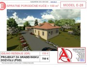 MODEL E-28, gotovi projekti vec od 50e, projekti, projektovanje, izrada projekata, house design, house ideas, house plans, interior design plans, house designs, house