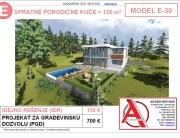 MODEL E-30, gotovi projekti vec od 50e, projekti, projektovanje, izrada projekata, house design, house ideas, house plans, interior design plans, house designs, house