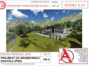MODEL E-31, gotovi projekti vec od 50e, projekti, projektovanje, izrada projekata, house design, house ideas, house plans, interior design plans, house designs, house