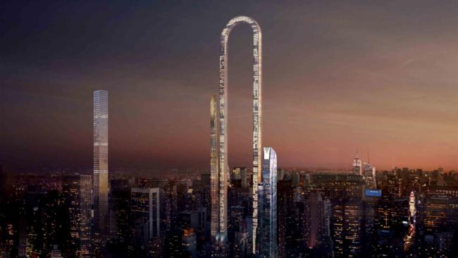 Neboder The Big Bend, zamišljen kao ˝najduži˝ neboder na svetu