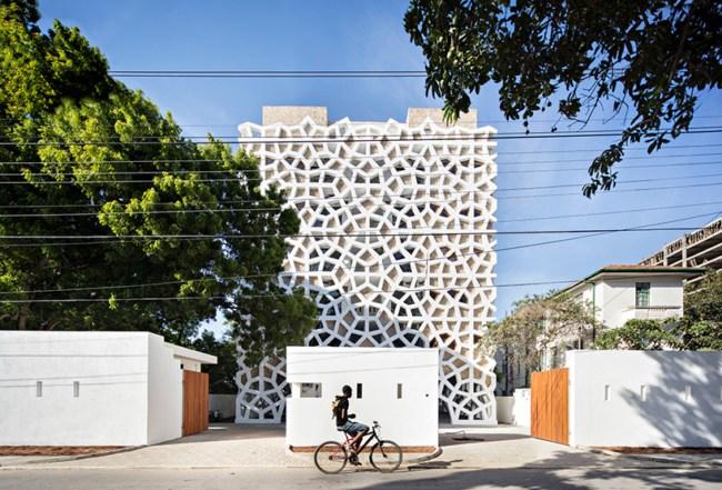 Interesantan i koristan šablon za dizajn zgrade u Keniji