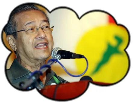 Mahathir dreaming