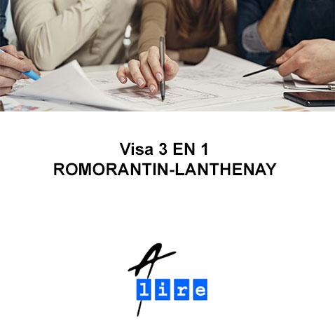 VISA 3 EN 1 ROMORANTIN