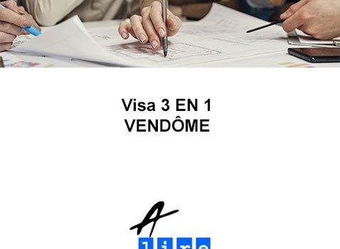 VISA 3 EN 1 VENDOME