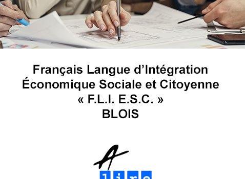 FRANCAIS LANGUE D INTEGRATION ECONOMIQUE SOCIALE ET CITOYENNE