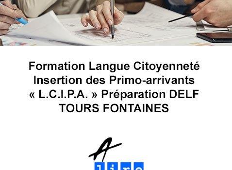 formation langue citoyenneté insertion des primo-arrivants tours