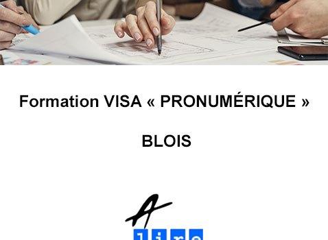 formation visa pro numérique blois