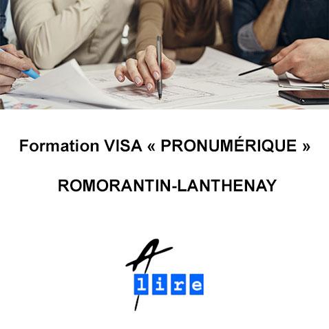 formation visa pro numerique romorantin