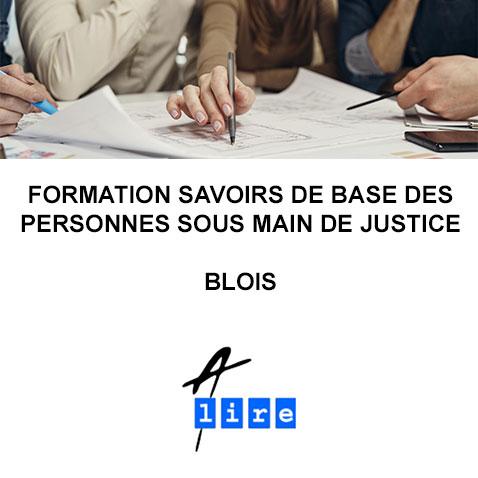 formation savoirs de base des personne sous main de justice