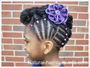 kids and babies with natural hair