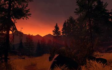 Firewatch scenery