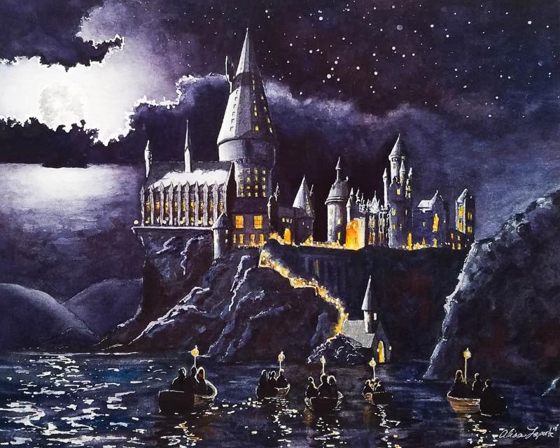 Speedpaint: Hogwarts