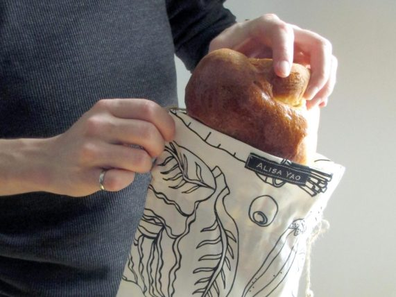 Cloth bread/bulk bag prototype