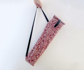 Cloth baguette bag prototype
