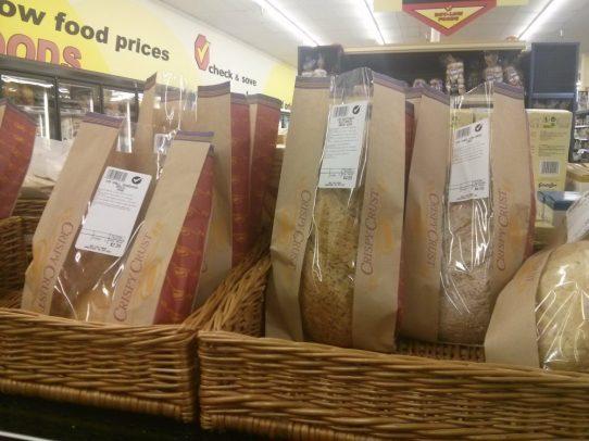 Bread Loaf Display at Buy Low Foods
