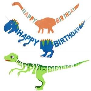 Dinosaur banner colours
