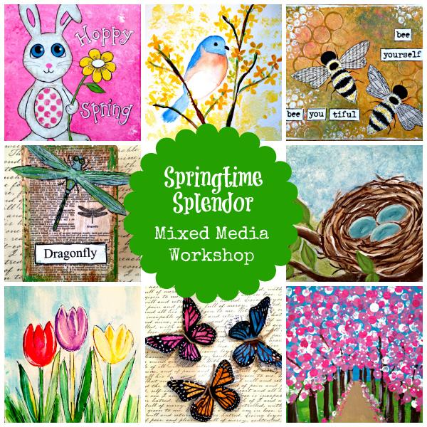 Springtime Splendor Collage - 600