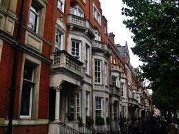 Random cute houses in London